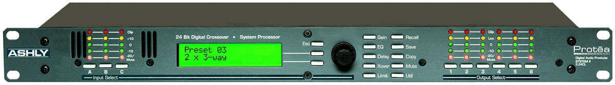 Ashly Speaker Management Protea 3 24cl Rp 4 000 000